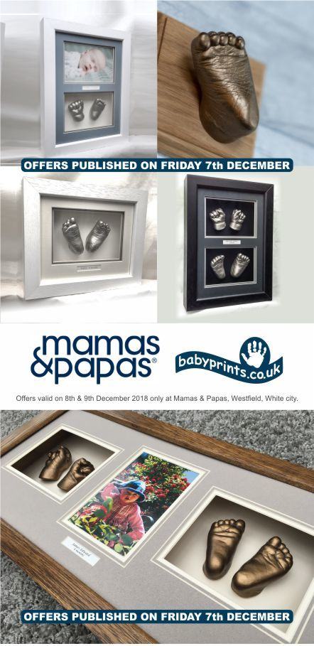 Babyprints Offers at Mamas and Papas