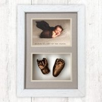 BABYPRINTS FRAMED HAND AND FOOT