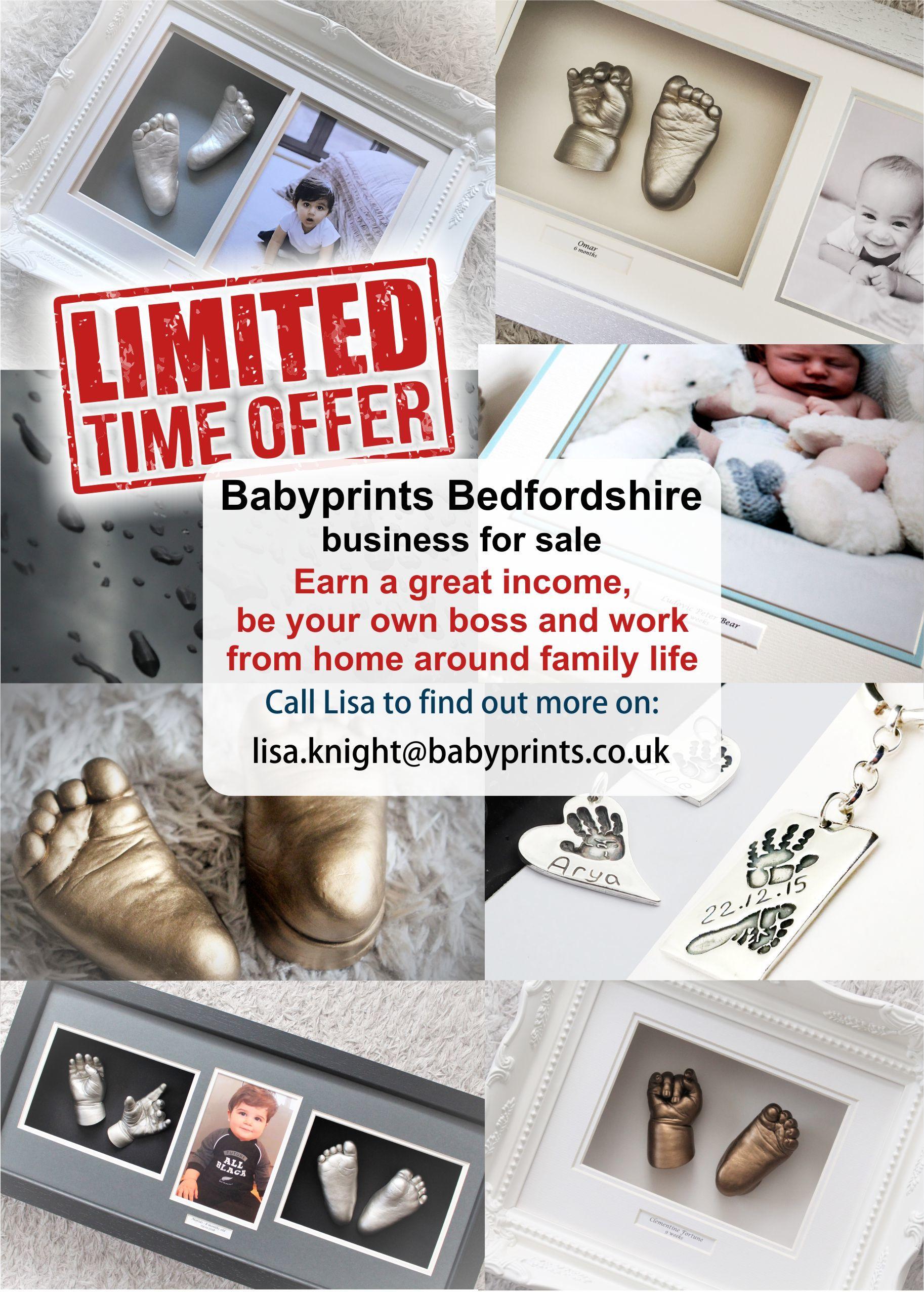 Bedfordshire Babyprints Business for sale