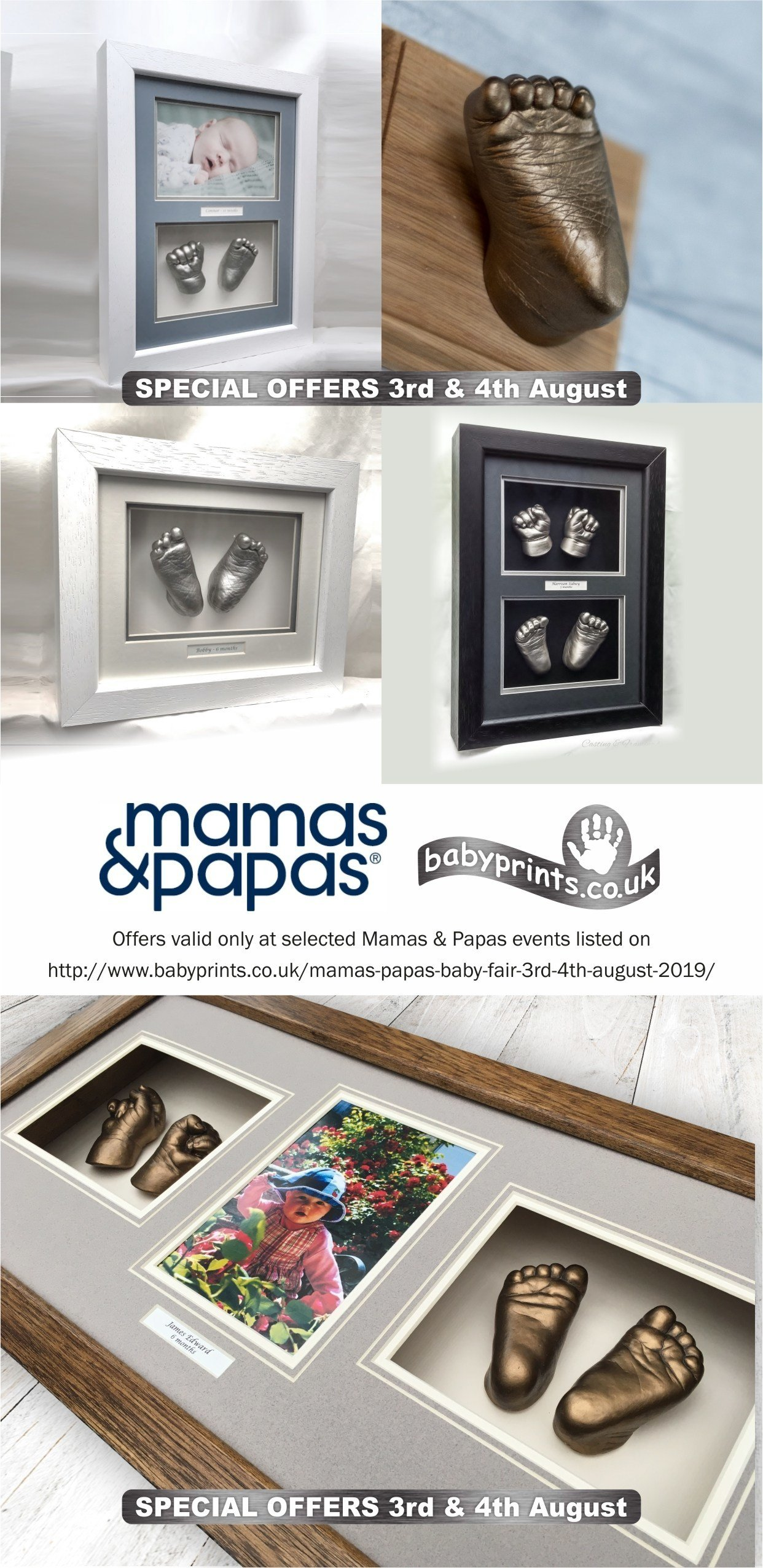 Mamas & Papas Baby Fair 3rd & 4th August 2019